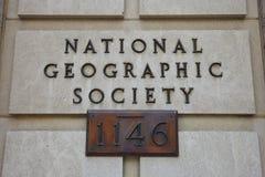 National Geographic -de Maatschappijteken stock fotografie
