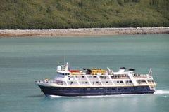 National Geographic Explorer. National Geographic vessel on a mission in Alaska's Glacier bay park Stock Image