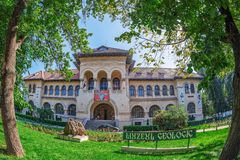Free National Geological Museum, Bucharest, Romania Royalty Free Stock Image - 123086526