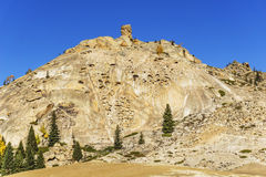 The National Geological Park of cocoa, Xinjiang, China Royalty Free Stock Photos