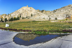 The National Geological Park of cocoa, Xinjiang, China Royalty Free Stock Image
