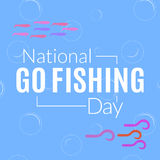 National Go Fishing Day Royalty Free Stock Images
