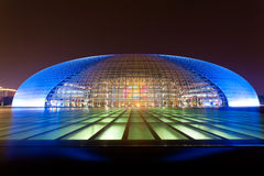 National Grand Theater, Beijing, China Stock Photos