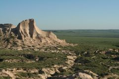 National Grasslands. This is a view of the National Grasslands in Eastern Colorado Stock Image