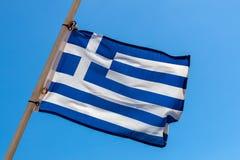 National Greek flag Stock Image