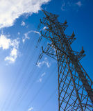 National grid power Stock Image