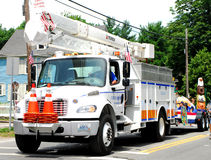 National Grid Service Truck Stock Photography