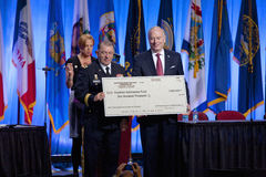 National Guard Association Scholarship Fund in Reno Royalty Free Stock Photo