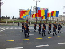 Romanian National Guard Stock Photo