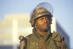 A National Guardsman Stock Images