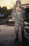 National Guardsman Stock Image