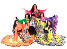The national Gypsy ensemble Stock Photo