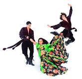 The national Gypsy ensemble Stock Photos