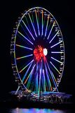 National Harbor Ferris Wheel Royalty Free Stock Photography