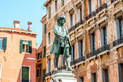 National hero monument in Venice Stock Images