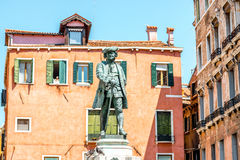 National hero monument in Venice Royalty Free Stock Image