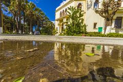 National higher school of agronomy. In  Algiers, in Algeria stock photography
