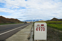 National highway 318 Stock Photo