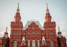 National Historic Museum at Red Square in Moscow, Russia Stock Photography