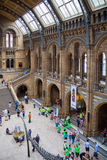 National History Museum, is one of the most favourite museum for families in London. Stock Photo