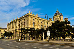 National History Museum in Vienna Stock Photography