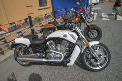 National HOG Rally Halden, Norway 12 to 15 June 2014 (bikes) Royalty Free Stock Image