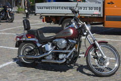 National HOG Rally Halden, Norway 12 to 15 June 2014 (bikes) Stock Photos