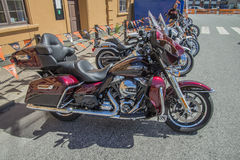 National HOG Rally Halden, Norway 12 to 15 June 2014 (bikes) Royalty Free Stock Photography