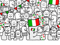 National holiday - Italy Stock Photography