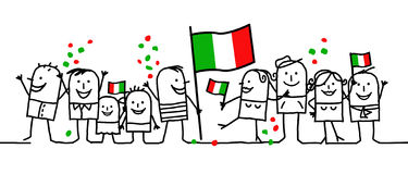 National holiday - Italy Stock Photo