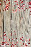 The national holiday of July 1- happy Canada day , Dominion day, the concept of patriotism, independence and memory, a place for. Text. white red confetti and stock image