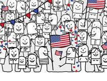 National holiday - USA Royalty Free Stock Image