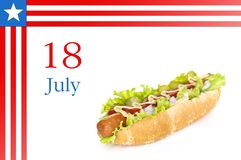 National Hot Dog Day Stock Photos