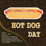 National Hot Dog Day Stock Photo
