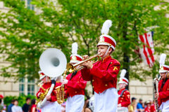 National Independence Day Parade 2015 Royalty Free Stock Photo