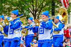National Independence Day Parade 2015 Royalty Free Stock Photography