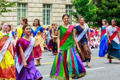 National Independence Day Parade 2015 Stock Photography