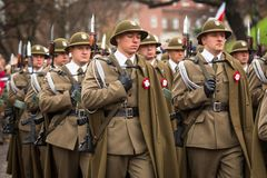 National Independence Day an Republic of Poland Stock Images
