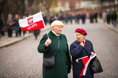 National Independence Day an Republic of Poland Stock Photography