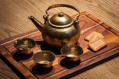 National indian tea traditional beverage. Royalty Free Stock Image