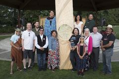 National Indigenous People`s Day in Port Moody, BC Stock Image