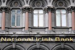 National Irish Bank detail Royalty Free Stock Image