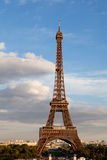 National landmark Eiffel tower in Paris France Stock Photos