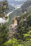 National Landmark Germany - Bastei Royalty Free Stock Photo