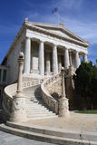 National Library of Athens. Neoclassical building, Greece Royalty Free Stock Photos