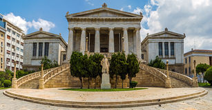 National Library in Athens - Greec Stock Images