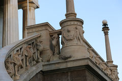 The National library  in Athens Royalty Free Stock Images
