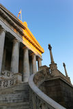 The National library  in Athens Royalty Free Stock Image