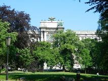National library of Austria in Vienna, Austria Royalty Free Stock Photo