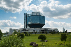 The National Library of Belarus. (Minsk, Belarus stock photos